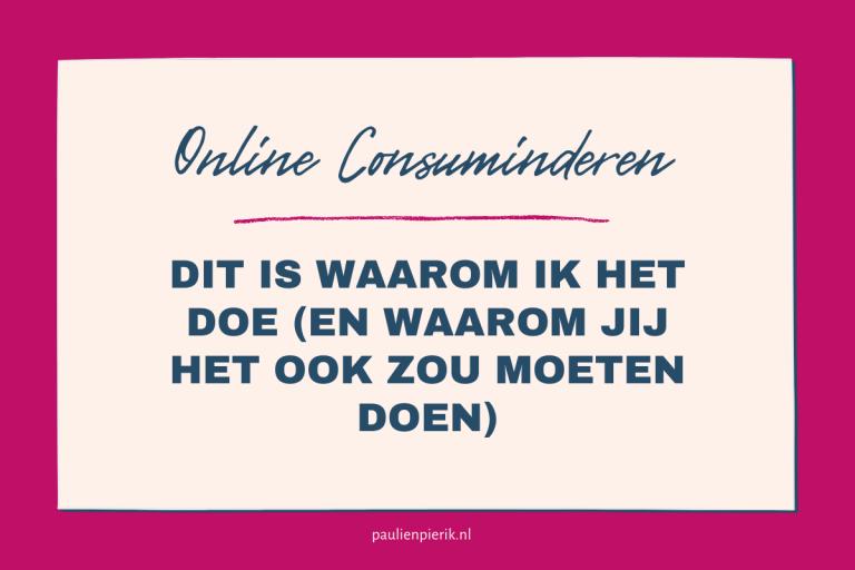 Content consuminderen voor online ondernemers